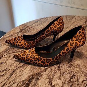 Torrid leopard pumps size 9